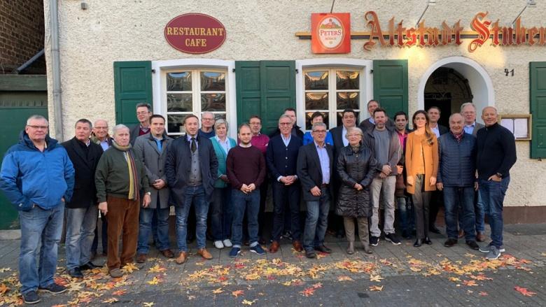 Gruppenbild 2. Vorsitzendenkonferenz 17.11.2018 Bedburg