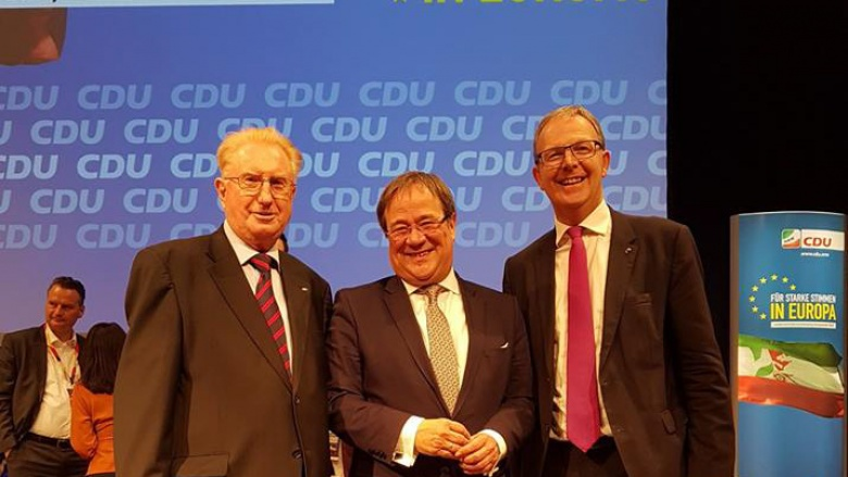 Hans Schnäpp, Armin Laschet und Axel Voss