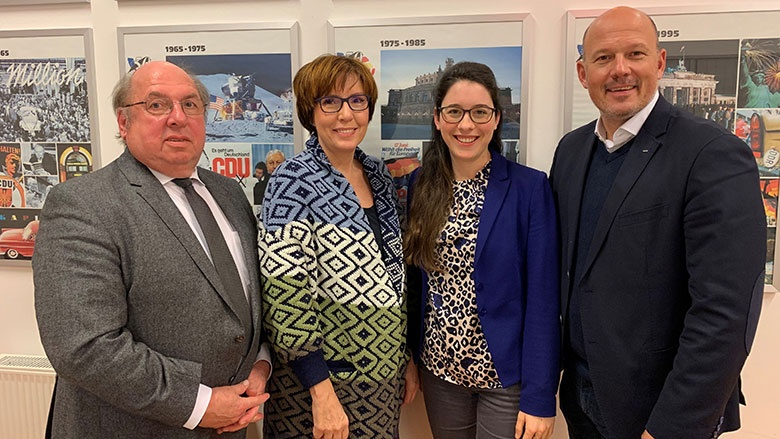 Willi Zylajew, Carla Neisse-Hommelsheim, Romina Plonsker und Frank Rock