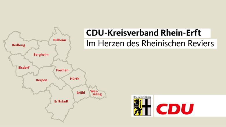 CDU Rhein-Erft - Im Herzen des Rheinischen Reviers