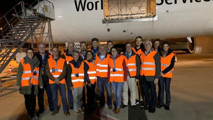 Zukunftsperspektive mit Romina Plonsker am Flughafen Köln Bonn