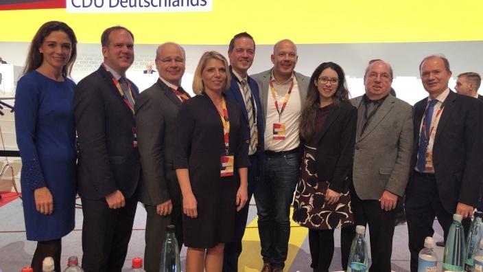 CDU Rhein-Erft auf dem 31. Bundesparteitag in Hamburg